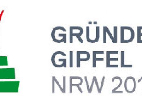 Gründergipfel NRW 2013 am 15. November in Düsseldorf